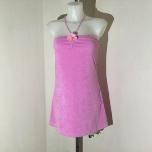 Roxy pink dress size medium